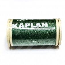 turkylm-ps0677-100m, žalia spalva, 120 numerio, poliesterio siūlas, apie 100m.