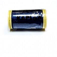 turkylm-ps0817-100m, tamsi, mėlyna spalva, 120 numerio, poliesterio siūlas, apie 100m.