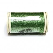 turkylm-ps1171-100m, šviesi, žalia spalva, 120 numerio, poliesterio siūlas, apie 100m.