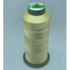 turkylm-ss-20m-11/38 apie 0.4 mm storio, šviesi, gelsva spalva, 100% natūralaus šilko siūlas, apie 20 m.