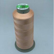turkylm-ss-20m-142/85 apie 0.4 mm storio, persikinė spalva, 100% natūralaus šilko siūlas, apie 20 m.