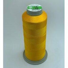 turkylm-ss-20m-15/26 apie 0.4 mm storio, geltona spalva, 100% natūralaus šilko siūlas, apie 20 m.