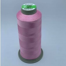 turkylm-ss-20m-158/61 apie 0.4 mm storio, šviesi, rožinė spalva, 100% natūralaus šilko siūlas, apie 20 m.