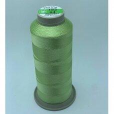 turkylm-ss-20m-162/64 apie 0.4 mm storio, žalsva spalva, 100% natūralaus šilko siūlas, apie 20 m.