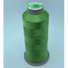 turkylm-ss-20m-163/25 apie 0.4 mm storio, žalsva spalva, 100% natūralaus šilko siūlas, apie 20 m.