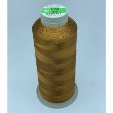 turkylm-ss-20m-176/14 apie 0.4 mm storio, ruda spalva, 100% natūralaus šilko siūlas, apie 20 m.