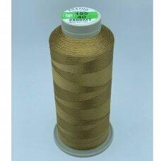 turkylm-ss-20m-199/40 apie 0.4 mm storio, šviesi, ruda spalva, 100% natūralaus šilko siūlas, apie 20 m.