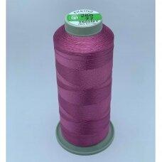 turkylm-ss-20m-260/77 apie 0.4 mm storio, tamsi, rožinė spalva, 100% natūralaus šilko siūlas, apie 20 m.