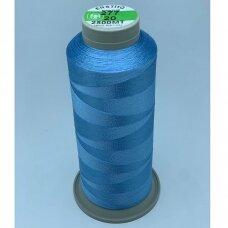 turkylm-ss-20m-277/20 apie 0.4 mm storio, šviesi, mėlyna spalva, 100% natūralaus šilko siūlas, apie 20 m.