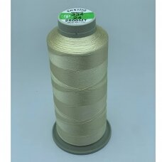 turkylm-ss-20m-334/24 apie 0.4 mm storio, šampaninė spalva, 100% natūralaus šilko siūlas, apie 20 m.