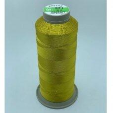 turkylm-ss-20m-371/21 apie 0.4 mm storio, šviesi, auksinė spalva, 100% natūralaus šilko siūlas, apie 20 m.