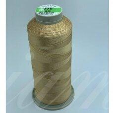 turkylm-ss-20m-379/39 apie 0.4 mm storio, šviesi, ruda spalva, 100% natūralaus šilko siūlas, apie 20 m.