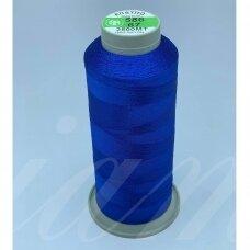 turkylm-ss-20m-586/67 apie 0.4 mm storio, mėlyna spalva, 100% natūralaus šilko siūlas, apie 20 m.