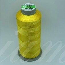 turkylm-ss-20m-615/21 apie 0.4 mm storio, šviesi, geltona spalva, 100% natūralaus šilko siūlas, apie 20 m.