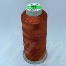 turkylm-ss-20m-643/34 apie 0.4 mm storio, ruda spalva, 100% natūralaus šilko siūlas, apie 20 m.