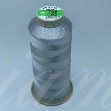 turkylm-ss-20m-705/92 apie 0.4 mm storio, šviesi, pilka spalva, 100% natūralaus šilko siūlas, apie 20 m.