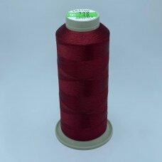 turkylm-ss-2500m-112/12 apie 0.4 mm storio, bordo spalva, 100% natūralaus šilko siūlas, apie 2500 m.