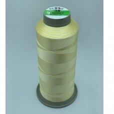 turkylm-ss-2500m-11/38 apie 0.4 mm storio, šviesi, gelsva spalva, 100% natūralaus šilko siūlas, apie 2500 m.