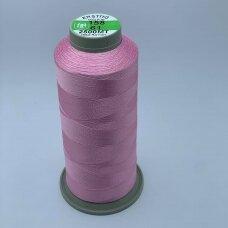 turkylm-ss-2500m-158/61 apie 0.4 mm storio, šviesi, rožinė spalva, 100% natūralaus šilko siūlas, apie 2500 m.