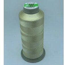 turkylm-ss-2500m-334/24 apie 0.4 mm storio, šampaninė spalva, 100% natūralaus šilko siūlas, apie 2500 m.