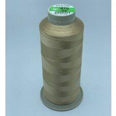 turkylm-ss-2500m-476/35 apie 0.4 mm storio, šviesi, ruda spalva, 100% natūralaus šilko siūlas, apie 2500 m.