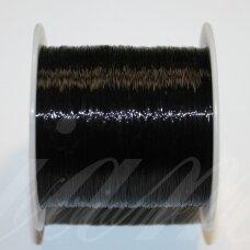 val0006-0.3 apie 0.3 m, juoda spalva, valas, apie 80 m.