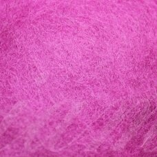 viln0170-50g, dark, pink color, felting wool, 50g.