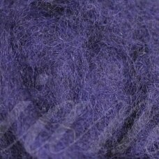 viln0320-50g, dark, blue color, felting wool, 50g.