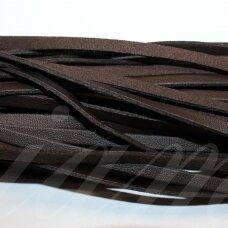 virv0202 apie 5 x 1 mm, ruda spalva, dirbtinė oda, 1 m.
