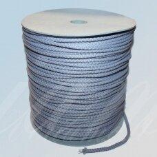 vr0014 apie 2 mm, melsva spalva, virvė, rankinėms nerti, 200 m.