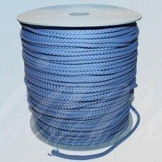 VR0023 apie 3 mm, melsva spalva, virvė, rankinėms nerti, apie 200 m.