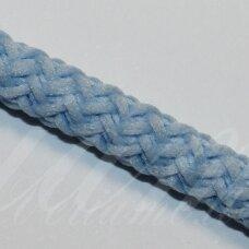 VR0024 apie 3 mm, žydra spalva, virvė, rankinėms nerti, apie 200 m.