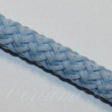 VR0024 apie 5 mm, žydra spalva, virvė, rankinėms nerti, apie 200 m.