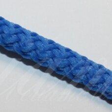 vr0025 apie 3 mm, mėlyna spalva, virvė, rankinėms nerti, apie 200 m.