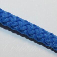 vr0025 apie 5 mm, mėlyna spalva, virvė, rankinėms nerti, apie 200 m.
