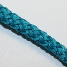 vr0026 apie 3 mm, elektrinė spalva, virvė, rankinėms nerti, apie 200 m.