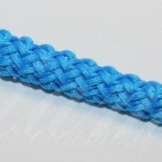 vr0034 apie 3 mm, šviesi, mėlyna spalva, virvė, rankinėms nerti, apie 200 m.