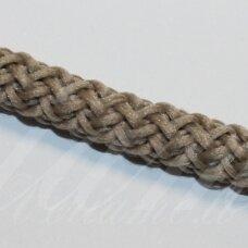 vr0036 apie 5 mm, pilka spalva, virvė, rankinėms nerti, apie 200 m.
