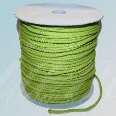 vr0046 apie 3 mm, salotinė spalva, virvė, rankinėms nerti, apie 200 m.