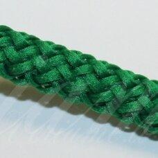 vr0048 apie 3 mm, žalia spalva, virvė, rankinėms nerti, 200 m.