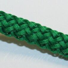 vr0048 apie 5 mm, žalia spalva, virvė, rankinėms nerti, apie 200 m.
