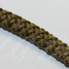 vr0049 apie 3 mm, tamsi, samaninė spalva, virvė, rankinėms nerti, apie 200 m.