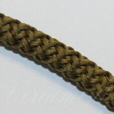 vr0049 apie 5 mm, tamsi, samaninė spalva, virvė, rankinėms nerti, apie 200 m.