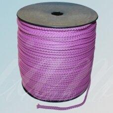 vr0057 apie 5 mm, alyvinė spalva, virvė, rankinėms nerti, apie 200 m.