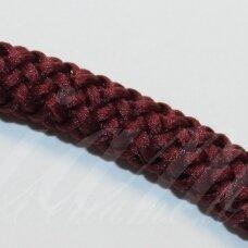 vr0058 apie 3 mm, bordo spalva, virvė, rankinėms nerti, 200 m.
