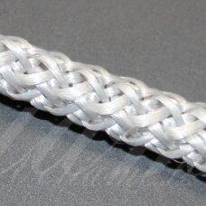 vr0059 apie 3 mm, sidabrinė spalva, virvė, rankinėms nerti, apie 200 m.