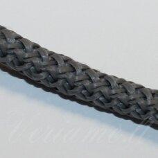 vr0063 apie 5 mm, pilka spalva, virvė, rankinėms nerti, apie 200 m.
