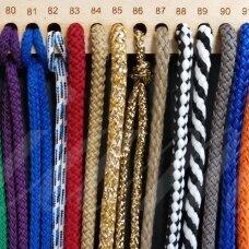 vr0087 apie 3 mm, šviesi, ruda spalva, virvė, rankinėms nerti, apie 200 m. x 2  /  2 vnt