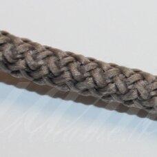 vr0090 apie 3 mm, pilka spalva, virvė, rankinėms nerti, 200 m. x 2  /  2 vnt