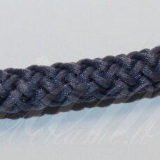 vr0095 apie 3 mm, melsvai pilka spalva, virvė, rankinėms nerti, apie 200 m. x 2  /  2 vnt
